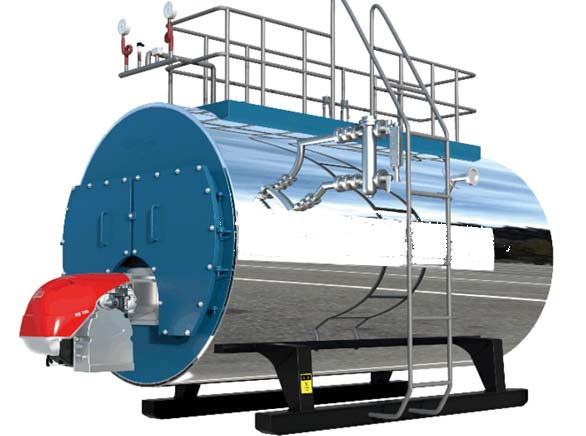 WNS Three Pass Steam Boiler